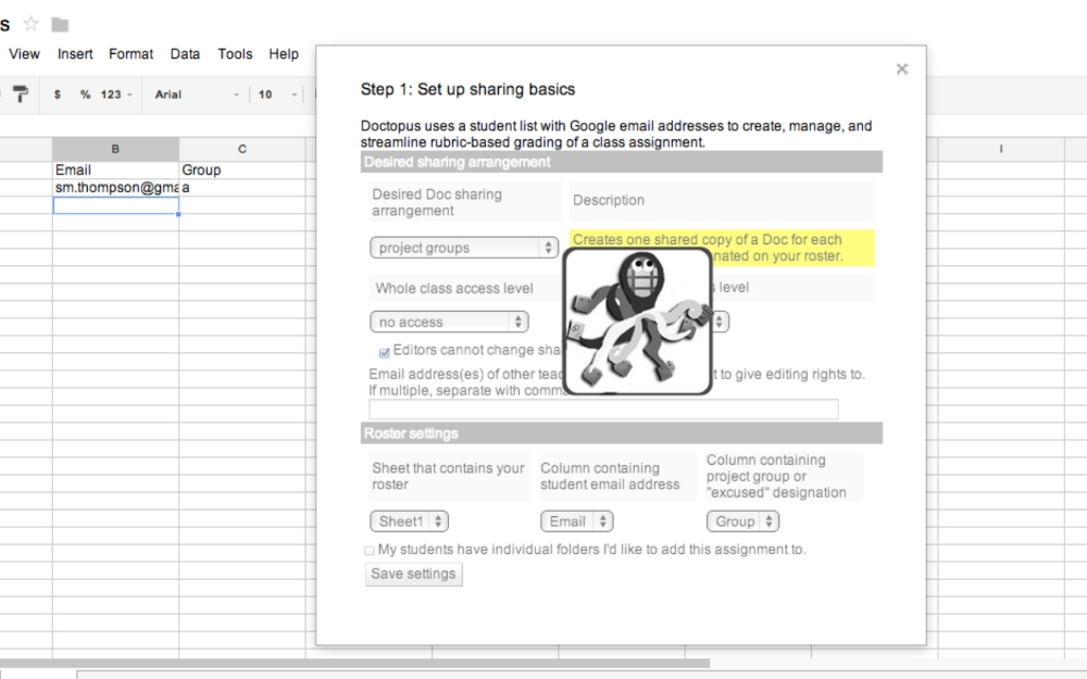 Doctopus + goobric making google apps for education more awesome (5/6)