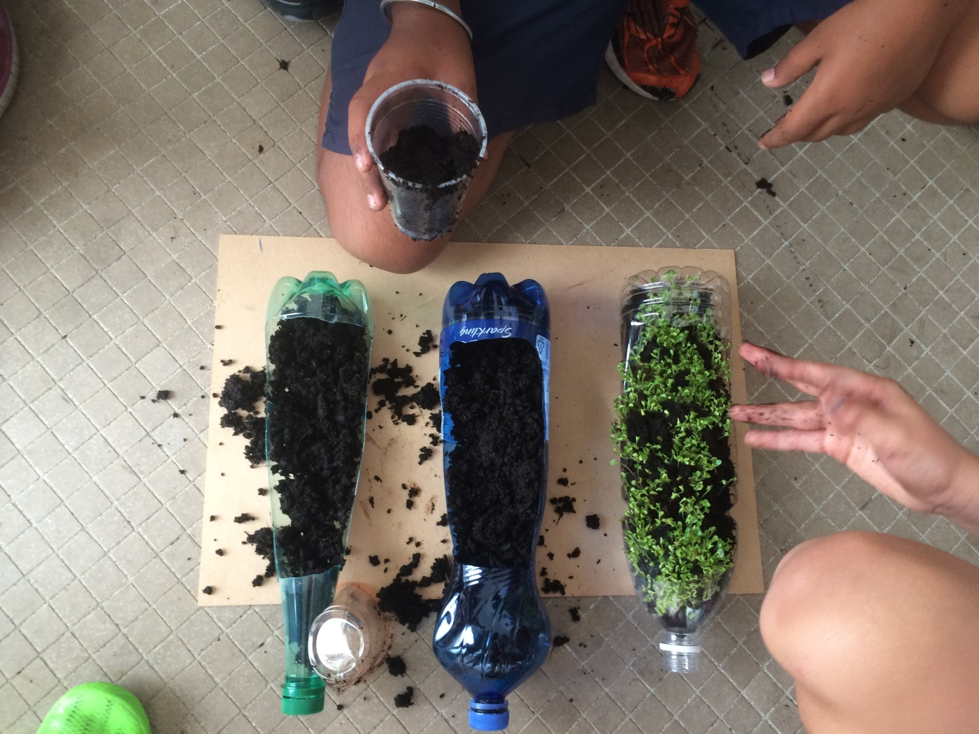 Neat erosion experiment teaching the teacher for Soil jar experiment